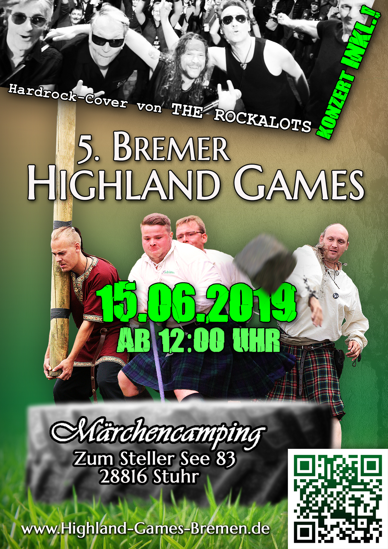 Highland Games Bremen 2019 Flyer